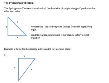 Geometry Complete Unit - High School Geometry