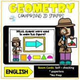 Geometry Composing 2d Shapes English Boom cards