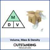 Compound Measures 2 - Mass, Volume and Density (+ worksheet)