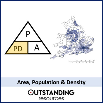 Geometry: Compound Measures 3 - Population, Area and Population Density
