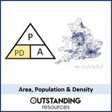 Compound Measures 3 - Population, Area and Population Density