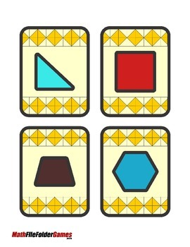 Geometry Concentration Game {Geometry Activity}
