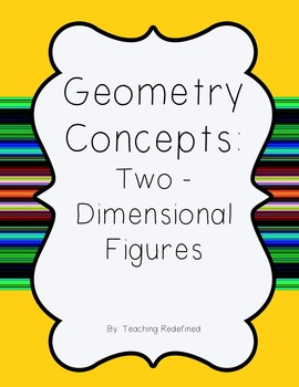 Geometry Concepts: 2D Figures
