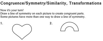 Geometry Concepts, 4th grade - Individualized Math - worksheets