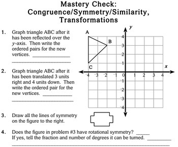 Geometry Concepts, 5th grade - Individualized Math - worksheets