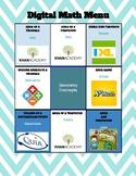 Geometry Concepts - Digital Choice Board - 6th Grade Math