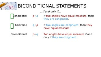 Geometry - Conditional Statements