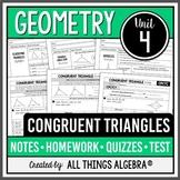 Congruent Triangles (Geometry Curriculum - Unit 4) DISTANC
