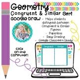 Geometry- Congruent or Similar Figure Sort