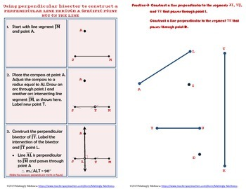 Geometry Construction Altitudes of Triangles and Orthocenter