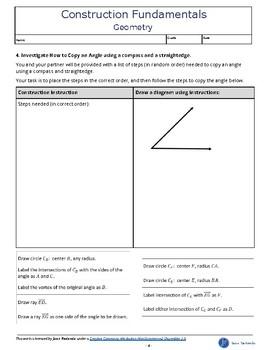 Geometry Construction Fundamentals