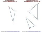 Geometry Construction Perpendicular Bisectors and Circumcenter