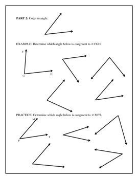 Geometry - Constructions