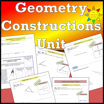 Geometry Constructions Unit
