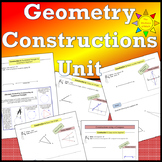 Geometry Constructions Unit