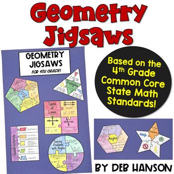 Geometry Craftivity (focusing on the 4th grade standards)