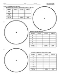 Geometry Creating/Analyzing Circle Graphs Using Protractor, Degrees and Percents