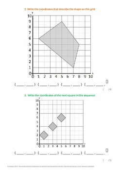 Geometry:  Creating and Completing Polygons on a Grid