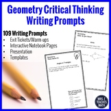 Geometry Writing in Math Prompts