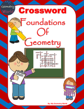 Geometry Crossword Puzzle: Foundations of Geometry by My Geometry ...