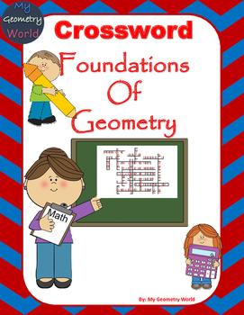 Geometry Crossword Puzzle: Foundations of Geometry