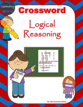 Geometry Crossword Puzzle: Logical Reasoning