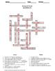 Geometry Crossword Puzzle: Quadrilaterals
