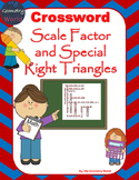 Geometry Crossword Puzzle: Scale Factor and Special Right Triangles
