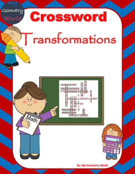 Geometry Crossword Puzzle: Transformations