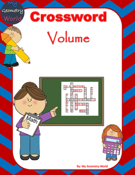 Geometry Crossword Puzzle: Volume