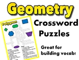 Geometry Crosswords