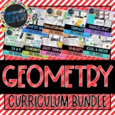Geometry Course Curriculum Bundle