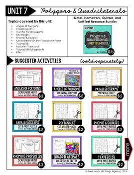Geometry Curriculum Store Catalog - All Thing Algebra®