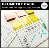 Geometry Dash: Points, Lines, Line Segments, Rays, & Angles