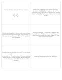 Geometry, Data, Algebra, and Number Sense Review Game - PDF