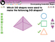 Geometry: Decomposing Geometric Shapes - Practice the Skill 1 - PC Gr. PK-2