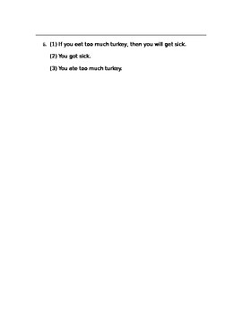 Geometry - Deductive Reasoning Worksheet