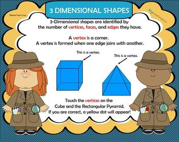 Geometry:  Detecting Shapes in the World Around Us!  (SmartBoard Unit)