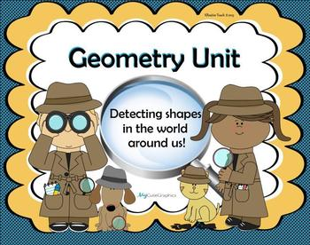 Geometry:  Detecting Shapes in the World Around Us!  (Smar