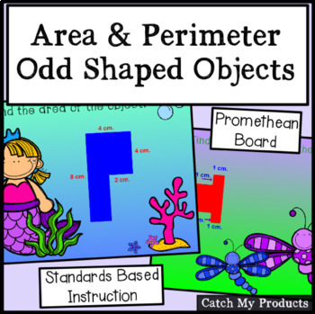 Area of Irregular Shapes : Area and Perimeter of Polygons  Promethean Board
