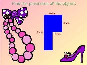Area of Irregular Shapes Area and Perimeter of Polygons  Promethean Board