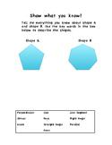 Geometry Diagnostic Assessment