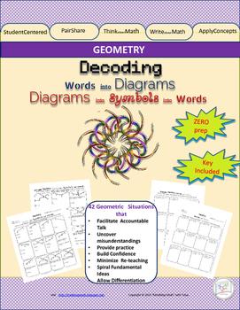 Geometry Diagram Labeling Decoding Practice