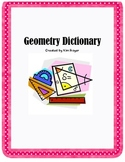 Geometry Dictionary and Quiz