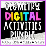 Geometry Digital Activities Growing Bundle
