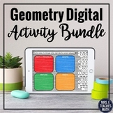 Geometry Digital Activity Bundle for Distance Learning