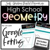 Geometry Google Forms Bundle- Digital Assignments