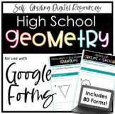 Geometry Digital Assignment Bundle- for use with Google Fo