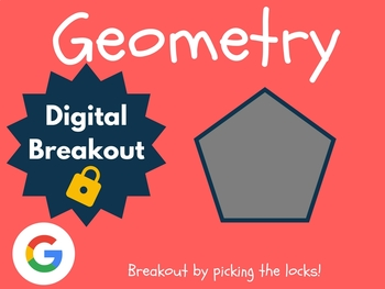 Geometry - Digital Breakout! (Escape Room, Scavenger Hunt)