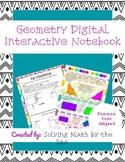 Geometry Digital Interactive Notebook-Google Slides